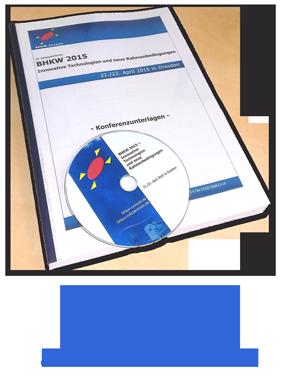 Der Konferenzband zur BHKW 2015 ist ab sofort erhältlich